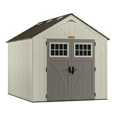 x 7 ft. Storage Shed in the Resin Sheds category at Tractor Supply Co.The Suncast Tremont 8 ft. x 7 ft. Storage Shed