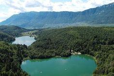 Kleiner und Großer Montiggler See