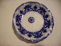 Flow Blue Celtic Butter Pats Vintage by JennersGemsVintage on Etsy, $33.00