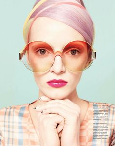 Daria Strokous - Vogue Japan beauty June 2012