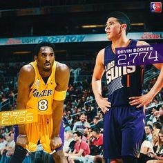 NBA: El 'killer adolescente' Devin Booker ya es mejor que Kobe Bryant | Marca.com http://www.marca.com/baloncesto/nba/2017/04/10/58eb13d5268e3e2b4d8b458f.html
