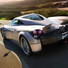 The divine Pagani Huayra - Huayra means God of the winds in Quechua