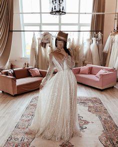 Wedding Dress Trends, Dream Wedding Dresses, Unique Wedding Dress, Wedding Outfits, Bohemian Wedding Dresses, Nontraditional Wedding, Casual Wedding, Wedding Details, Outdoor Wedding Dress