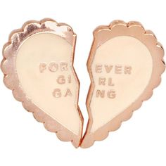Bando Forever girl gang enamel pin set ($19) ❤ liked on Polyvore featuring jewelry, brooches, pin brooch, bando, pin jewelry, enamel brooches and enamel jewelry