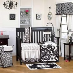 Elsa 4 Piece Baby Crib Bedding Set by Cocalo Couture Image