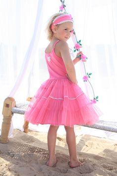 Isn't she lovely..  isn't she wonderfull... this pink mim-pi girl #mimpi #pink #cute #kids #fashion #girls