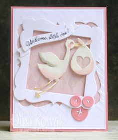 Welcome little one by dini - Cards and Paper Crafts at Splitcoaststampers