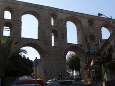 Aqueduct in Kavala.
