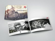 "Photo Album ""Honda XL 700 VA Transalp - by Maxim Tyutmanov, via Behance Honda, Album, Print Design, Polaroid Film, Behance, Motorbikes, Card Book"