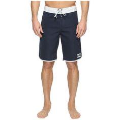 Billabong 73 Originals Boardshorts (Navy) Men's Swimwear ($33) ❤ liked on Polyvore featuring men's fashion, men's clothing, men's swimwear, mens swimwear, mens board shorts swimwear, old navy mens clothing, men's apparel and mens boardshorts