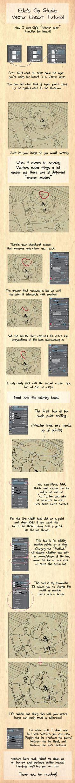 Clip studio vector layer tutorial by Ekkoberry.deviantart.com on @DeviantArt