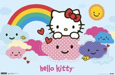 Hello Kitty - Clouds Posters at AllPosters.com