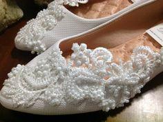 Sapatilha Elegance Noiva