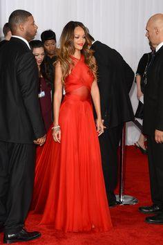 Rihanna - The 55th Annual GRAMMY Awards - Arrivals