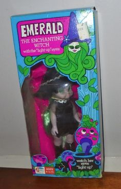 Emerald the Enchanting Witch doll in orig box