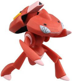 Amazon.com: Takara Tomy Pokemon MSP Moncolle Super Size Series Red Genesect: Toys & Games