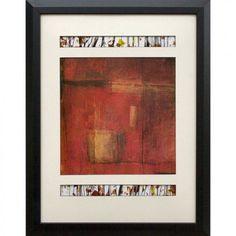 Phoenix Galleries Red Opening Doors I Framed Print - N1308