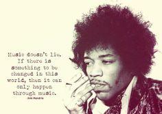 Jimi Hendrix~ beautiful, true quote