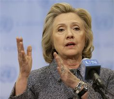 My Way News - AP sues State Department, seeking access to Clinton records