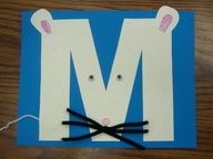 Letter M craft that looks simple enough!