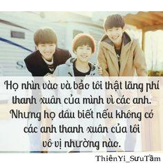 Quotes TFBOYS  - By Me - Ân Ân