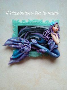 Guarda questo articolo nel mio negozio Etsy https://www.etsy.com/it/listing/491407568/magnete-sirena-galaxy-magnet-mermaid