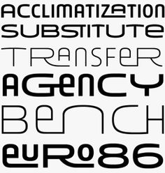 Younion FY font sample