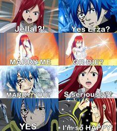 ~Jerza : (Jellal x Erza)~   via Facebook