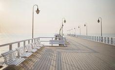 Gdynia, Molo, Orłowo, Morze, Bałtyk,