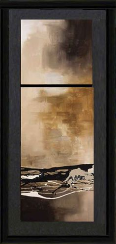 Tobacco and Chocolate III   Abstract   Framed Art   Wall Decor   Art   Pictures   Home Decor