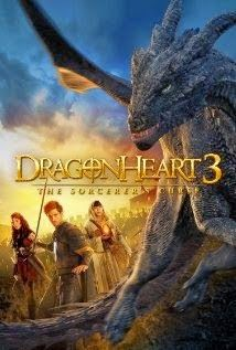 THE CINEMA 212: Dragonheart 3 : The Sorcerers Curse (2015)   Sinopsis :  Seorang calon ksatria bernama Gareth (Julian Morris) pergi mencari sebuah komet yang yang baru saja jatuh. Komet itu dikabarkan mengandung banyak emas. Namun, dia sangat terkejut karena justru menemukan seekor naga Drago.   Keduanya memiliki hubungan terikat satu sama lain setelah Drago menyelamatkan hidupnya. Mereka kemudian bekerjasama untuk mengalahkan seorang penyihir jahat dan menghilangkan kekuasaannya yang penuh…