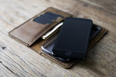 iPhone 7 Case PERSONALIZED Leather iPhone Wallet Case Also