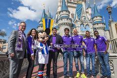 Walt Disney World Resort Becomes Founding Sponsor of Orlando City Soccer Club