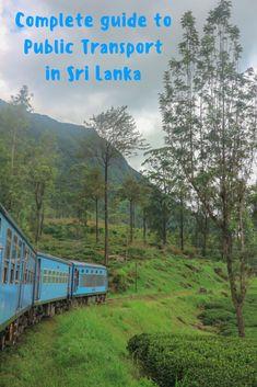 Public Transport in Sri Lanka Pin