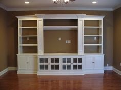 Built in entertainment center, change to dresser on bottom for the MB