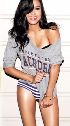 Naya Rivera - Did I ever tell you she's my favorite?? Well, she IS.