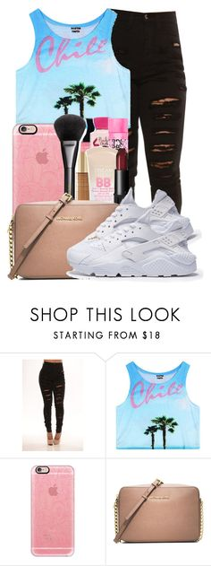 """."" by ray-royals ❤ liked on Polyvore featuring Casetify and MICHAEL Michael Kors"