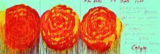 """Cy Twombly. """"The Rose (II)"""", 2008. The colors of sunrise, sky, divine inspiration."""