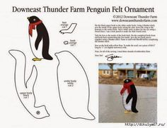 Eu Amo Artesanato: Pinguim