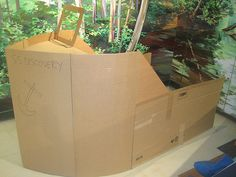 How to Make a Cardboard Boat - Goedeker's Home Life