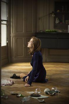 Isabelle Huppert in Elle Isabelle Huppert, Paul Verhoeven, Cinema Theatre, Paris Arrondissement, Female Art, Photo Art, Style Inspiration, Movies, Films