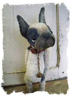 French Bulldog by Whendi's Bears.  Cute as!