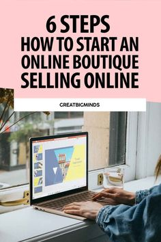 Learn how to start online boutique business in 6 simple steps. By the end of this step by step tutorial, you would have learned how to build a profitable online clothing boutique today. Read more inside. #onlinestore #onlineboutique #onlineclothingboutique #onlineboutiquebusiness #ecommerce Starting An Online Boutique, Selling Online, Online Income, Earn Money Online, Business Tips, Online Business, Online Clothing Boutiques, Starting A Business, Travel Inspiration