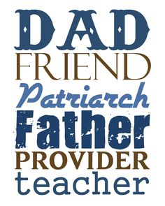 Free Father's Day #printable