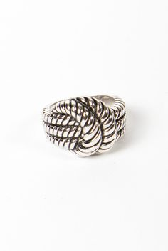 for sailors:: knotted ring