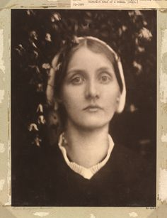 Julia Margaret Cameron. Mrs. Herbert Duckworth,  1872.