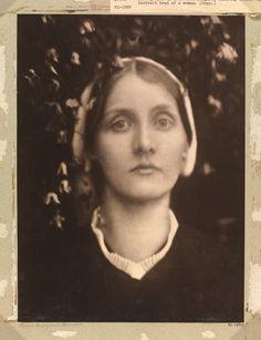 Julia Margaret Cameron. Mrs. Herbert Duckworth,  1872.