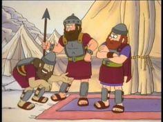 La Historia de David y Goliat - YouTube