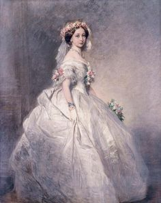 """Princess Alice (1843-78), later Grand Duchess of Hesse"", Franz Xaver Winterhalter, 1859; Royal Collection Trust 400807"