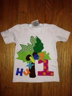 Chicka Chicka Boom Boom Custom Birthday Shirt by LittleBelleTique